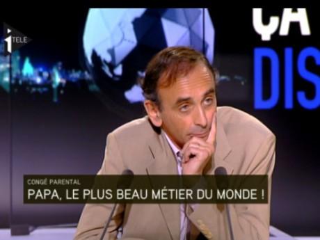 Eric Zemmour, sur le plateau de l'émission - DR