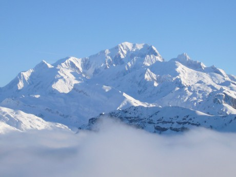 Le réchauffement climatique s'accélère sur le Mont-Blanc - DR