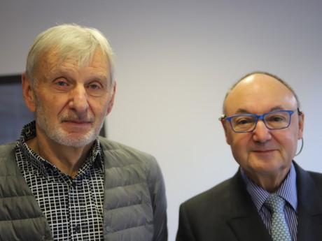 Jean-François Zurawik et Gérard Angel - LyonMag