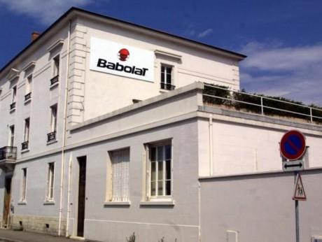 Les locaux de Babolat à Lyon - DR
