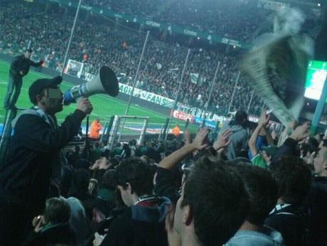 Des Magic Fans à Geoffroy-Guichard - LyonMag
