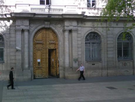 Le siège historique de la banque de France - DR