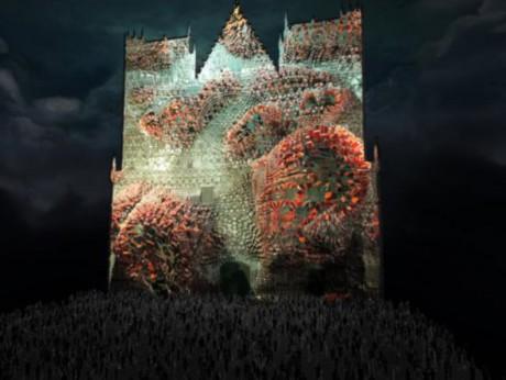 L'illumination prévue cet hiver pour la cathédrale Saint-Jean - DR
