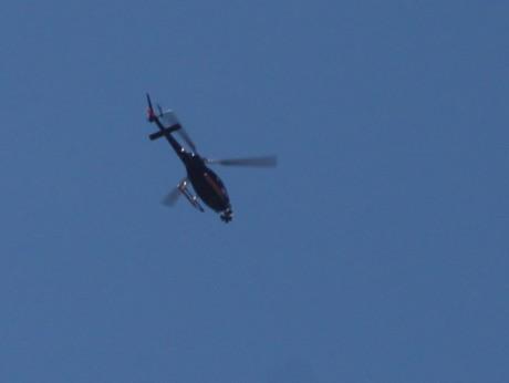 L'hélicoptère du film