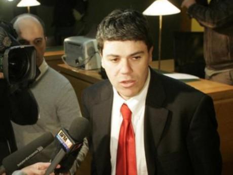 Me Hervé Banbanaste au procès de Toni Musulin en 2010 - Photo DR