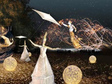Le Songe d'une Nuit Dorée au Parc de la Tête d'Or - DR