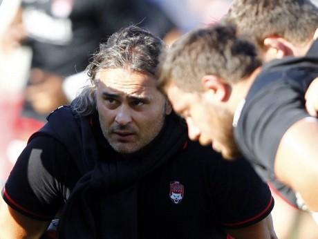 Sébastien Bruno, entraîneur des avants du LOU - DR Twitter LOU rugby