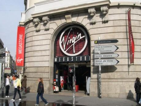 L'enseigne Virgin à Lyon - LyonMag.com