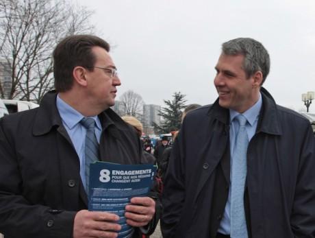 Philippe Cochet et Philippe Meunier - Photo DR Julien Smati Société SmartAngel Media