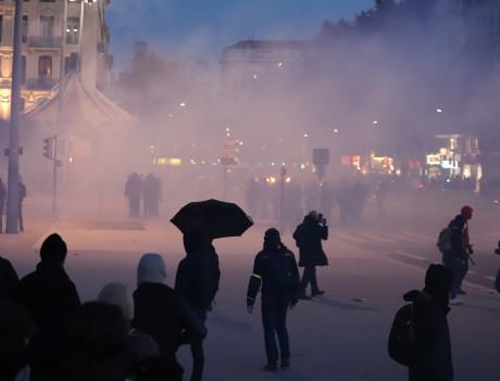 La manifestation de la semaine dernière avait déjà dégénéré- LyonMag