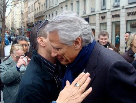 Dominique de Villepin lors de son passage à Lyon - LyonMag