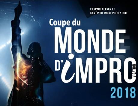 Affiche de la Coupe du Monde d'improvisation - DR