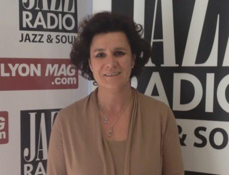 Laure Dagorne, candidate UMP aux législatives dans la 3e circonscription du Rhône - Photo Lyonmag.com
