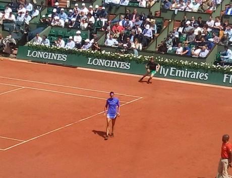 Caroline Garcia sur la terre battue de Roland-Garros - Lyonmag.com