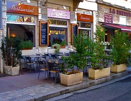 La devanture du restaurant La fenotte à la Croix-Rousse - DR