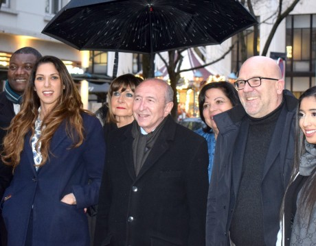 Emmanuelle Haziza, Gérard Collomb et Bruno Bonnell - LyonMag