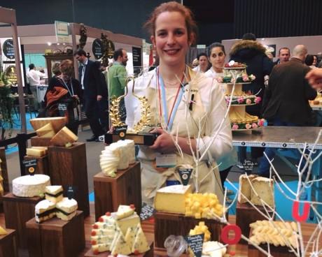 Maud Savoie a reçu le prix de la Lyre d'Or - DR