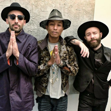 JR, Pharrell et Woodkid - DR