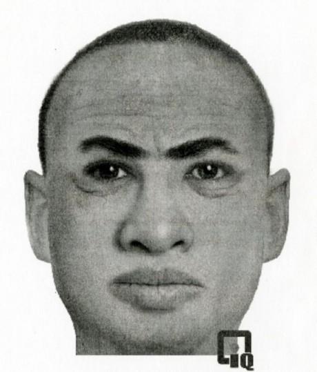Le portrait-robot du suspect - DR
