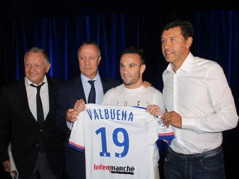 Mathieu Valbuena est arrivé à l'OL en provenance du Dinamo Moscou - LyonMag