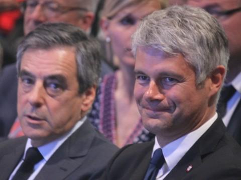 Laurent Wauquiez, ici avec François Fillon - LyonMag