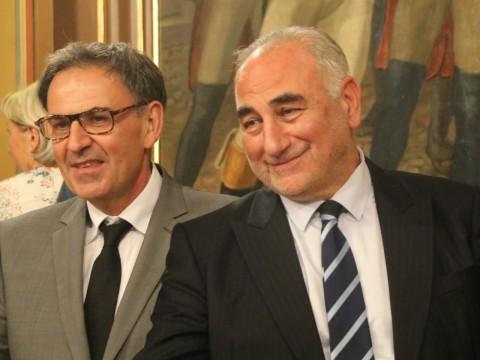 David Kimelfeld et Georges Képénékian - LyonMag