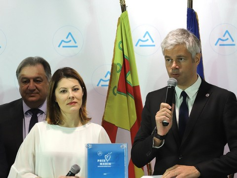Audrey Sauvajon et Laurent Wauquiez- LyonMag