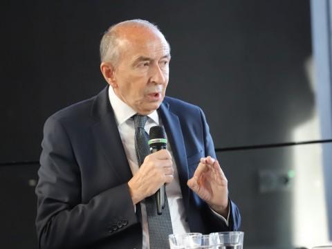 Gérard Collomb déterminé à réaliser à l'Anneau des Sciences - LyonMag.com