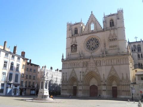 La primatiale Saint-Jean - LyonMag
