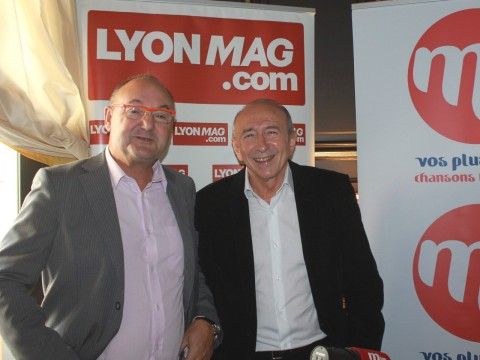 Gérard Angel et Gérard Collomb - LyonMag