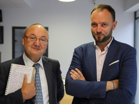 Gérard Angel et Thomas Gassilloud - LyonMag