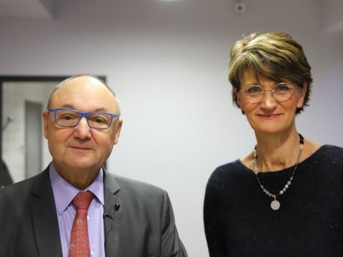 Gérard Angel et Claire Peigné - LyonMag