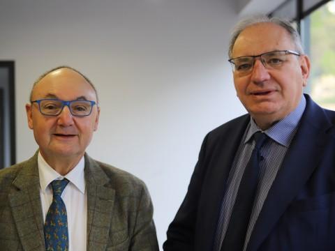 Gérard Angel et Bernard Perrut - LyonMag