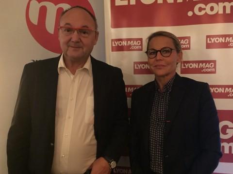 Gérard Angel et Sylvie Robert - LyonMag
