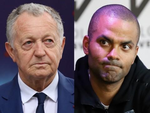 Jean-Michel Aulas et Tony Parker - LyonMag