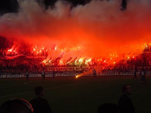 Faut-il préciser que les supporters turcs sont parmi les plus chauds d'Europe ? - DR