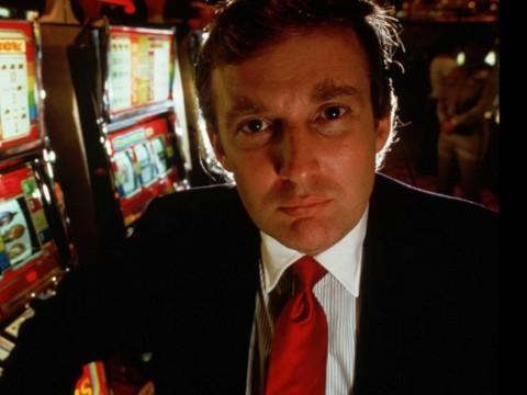 Donald Trump dans les années 1980 - DR