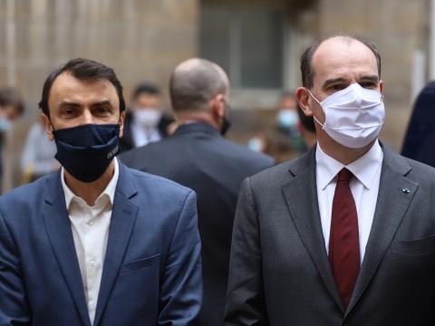 Grégory Doucet et Jean Castex ce samedi - LyonMag