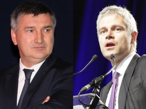 Christophe Guilloteau et Laurent Wauquiez - LyonMag