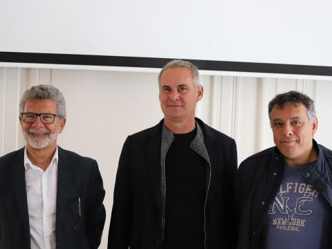 Michel Tirroloni,Laurent Roussey et Mohamed Tria - LyonMag