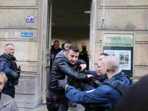 L'expulsion des Albanais de la mairie du 3e - LyonMag