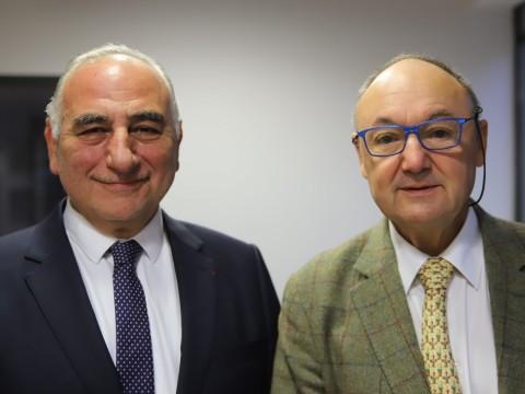 Georges Képénékian et Gérard Angel - LyonMag
