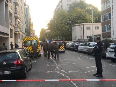 La fusillade a eu lieu près de l'église orthodoxe que l'on voit sur la droite - LyonMag