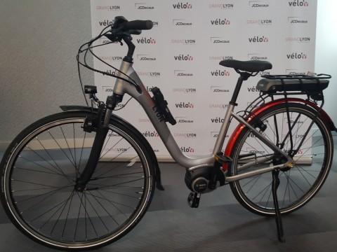 La Métropole de Lyon a dévoilé son nouveau vélo électrique,