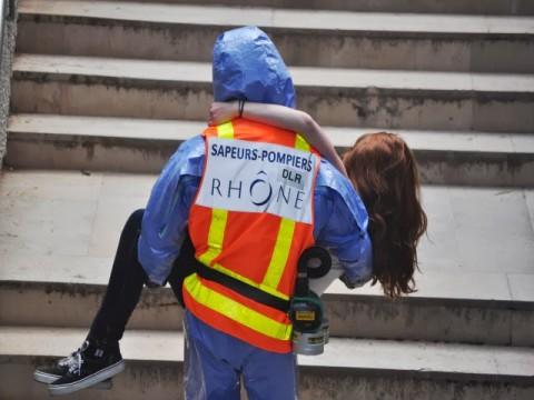 Un pompier du Rhône en intervention - Photo d'illustration, LyonMag