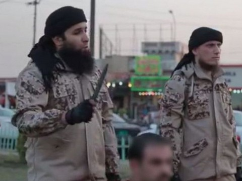 Rachid Kassim, ici à gauche - Capture d'écran DR
