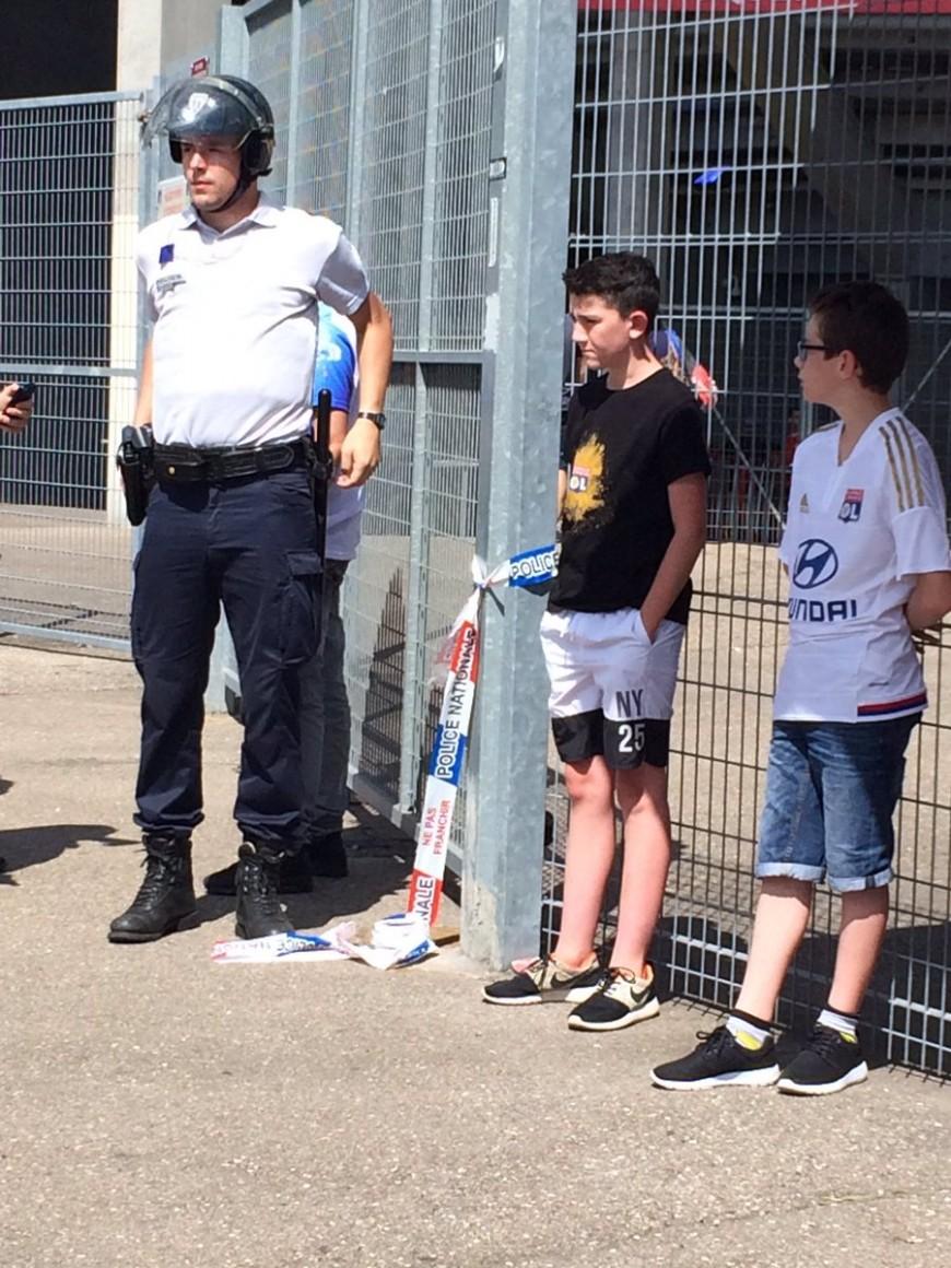 L'OL a invité l'un des jeunes supporters refoulés à Nancy