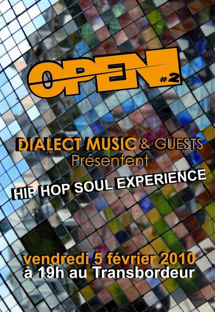 La Hip-Hop Soul Experience squatte la scène du Tranbordeur