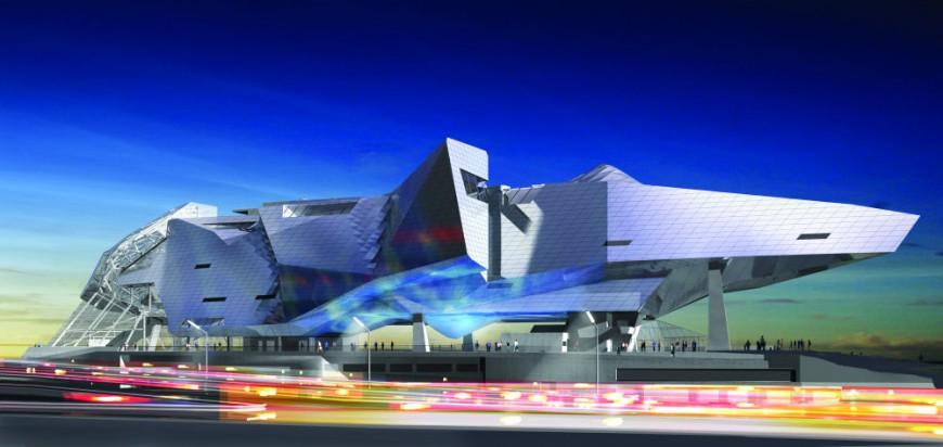 Vinci remporte l'appel d'offre pour le Musée des Confluences