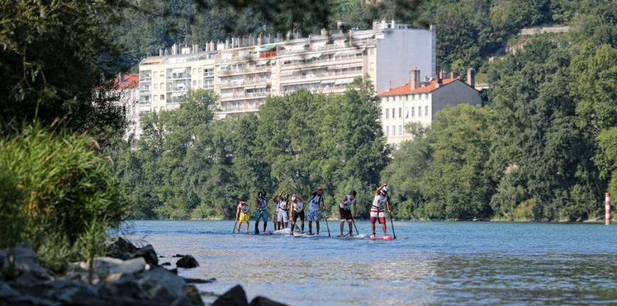 Le Rhône à découvrir ce week-end... debout sur une planche